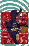 Darkwing Duck JoeBooks 1 textless cover art