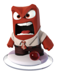 Disney INFINITY Anger Figure
