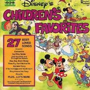 Disneys childrens favorites volume 3 lp