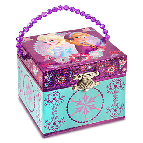 Image Frozen Anna and Elsa 2014 Musical Jewelry Box 1jpg Disney