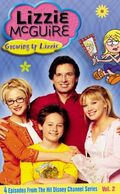 Lizzie McGuire Growing Up Lizzie VHS
