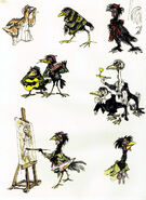 Chanticleer Assorted Birds