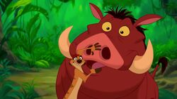 Disney's The Lion King - Timon and Pumbaa - Not in Front of the Kids
