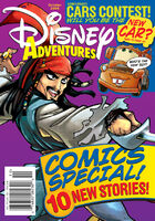 Disney Adventures Magazine cover October 2006 Jack Sparrow
