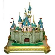 Disneyland Sleeping Beautry's Castle WDCC