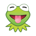EmojiBlitzKermit-tongue