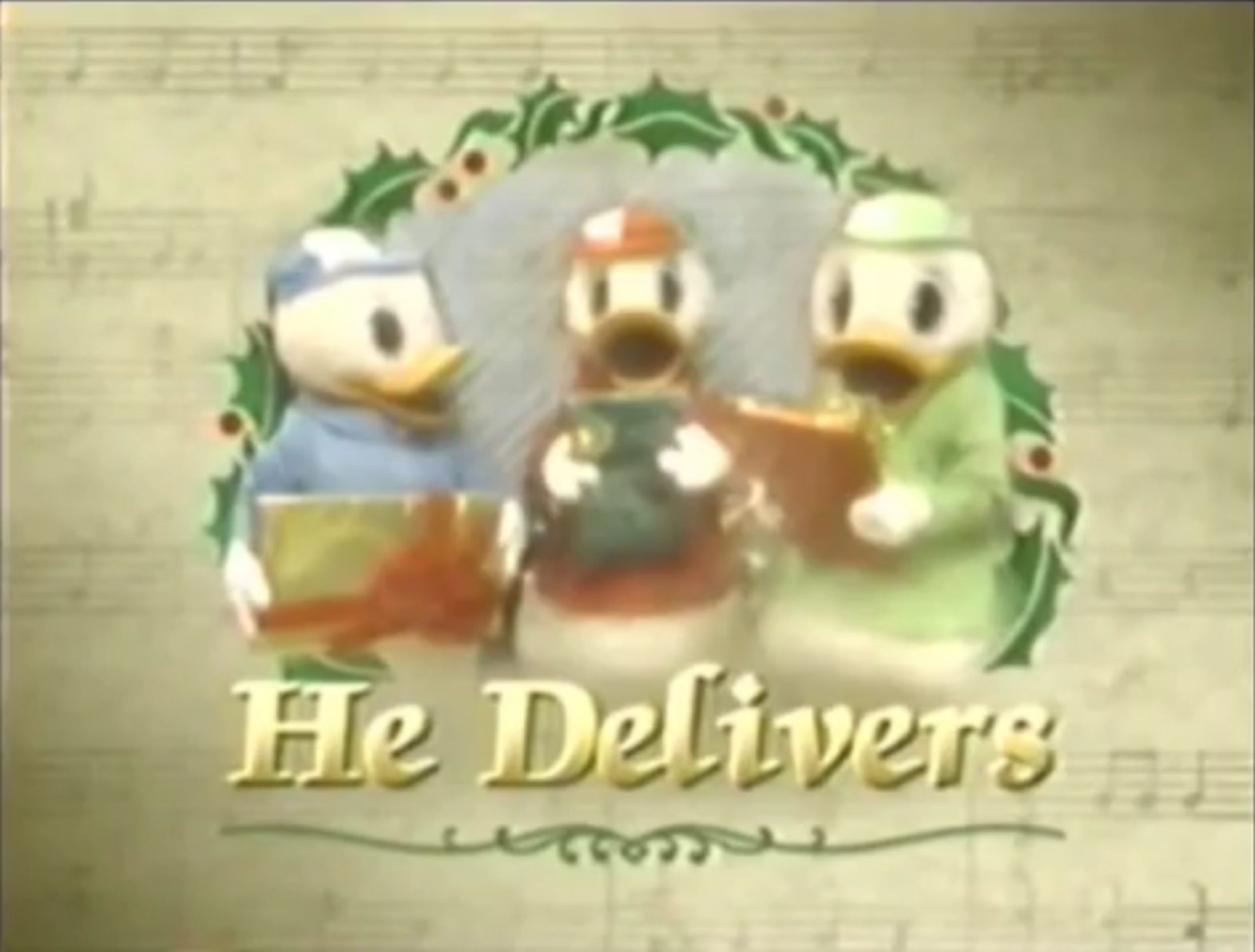 he delivers - Disney 12 Days Of Christmas