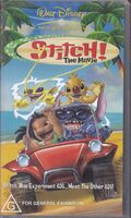 Stitch! The Movie 2003 AUS VHS