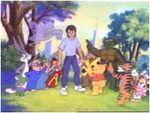 Teigetje, Pooh, Bugs en andere