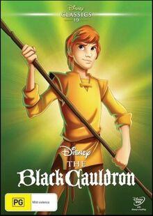 The Black Cauldron 2016 AUS DVD