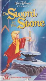 The Sword in the Stone 1992 AUS VHS