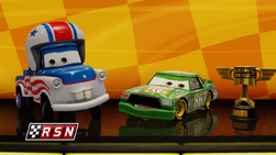 Cars 3 Videogame - Mater the Greater and Chick