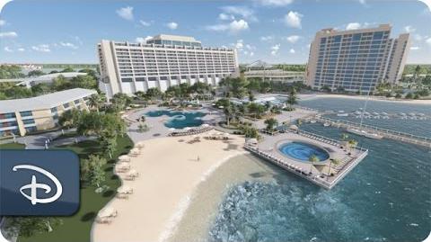 Disney's Contemporary Resort Animated Video Tour Walt Disney World