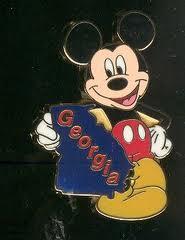 Georgia Mickey Pin
