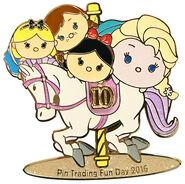 HKDL Tsum Tsum Trading Day Pin 15