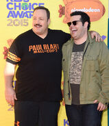 Kevin James & Josh Gad Nickelodeon KCA