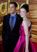Mandy Moore and Zachary Levi - Tangled Premiere Los Angeles