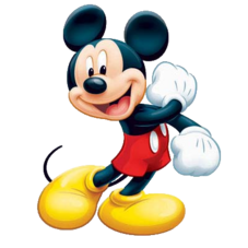 Mickey Mouse image transparent