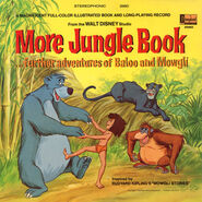 More Jungle Book Record Cover