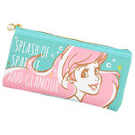 Pencil case pen case Ariel flat