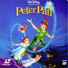 Peter Pan 1996 France Laserdisc