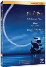 Peter Pan 2013 2-Movie Brazil DVD