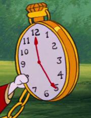 Reloj ConejoBlanco