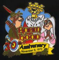 RobinHood pin