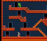 Roger Rabbit Famicom Gameplay