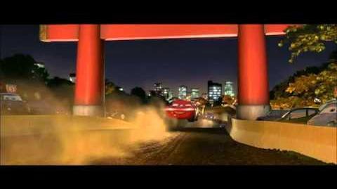 Carros 2 Corrida no Japão