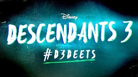 D3 Deets New VK Revealed! 🐸💀 Descendants 3