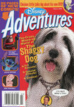 Disney Adventures Magazine cover March 2006 Shaggy Dog
