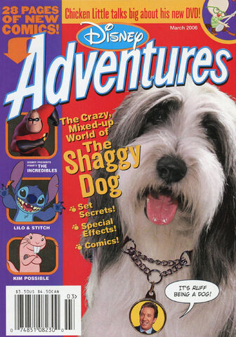 File:Disney Adventures Magazine cover March 2006 Shaggy Dog.jpg