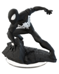 Disney INFINITY Black Suit Spider-Man Figure