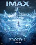 Frozen 2 IMAX poster