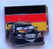 Germany Cars Pin