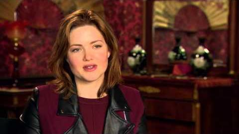 Holliday Grainger Cinderella Interview