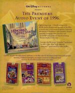 Hunchback Soundtrack trade print ad BB-1996-05-25