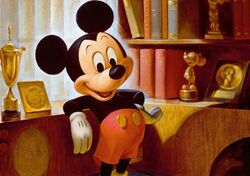 John Hench Mickey Mouse