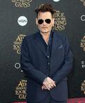 Johnny Depp Alice Looking Glass premiere
