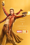 Poster gold starlord