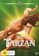 Tarzan AU Classics DVD