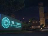 Technische Hochschule in San Fransokyo