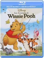 The Many Adventures of Winnie the Pooh Mexico Blu-Ray