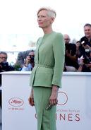 Tilda Swinton 70th Cannes Fest