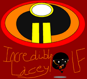 (Old Drawing of PowerPuff Verison of the Incredibles 2) The Incredibles 2 - (SUPER PAWSOME MASTERPIECE) - Incredible Lacey!