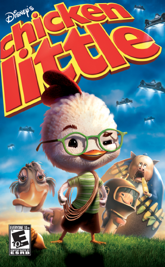 Chicken Little Video Game Disney Wiki Fandom Powered By Wikia