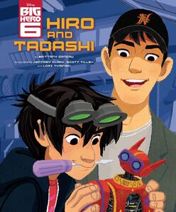 Hiro and Tadashi Book Cover
