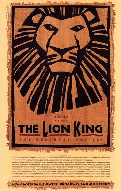 TLK Vintage Broadway Poster