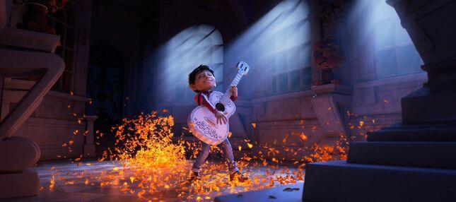 DisneyPixar's First Exclusive Look at Coco